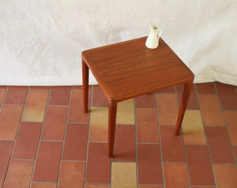 Vintage MCM Danish side table by or for Bramin