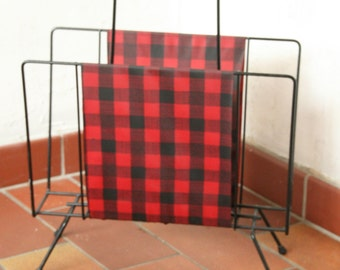 Vintage paper or magazine rack