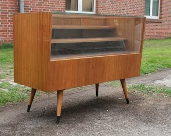 50s vintage toonbank/vitrinekast