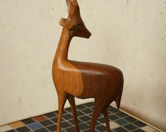 Mid Century Danish Teak Antelope or Deer