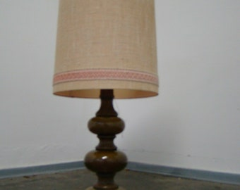 Smart vintage 70s ceramic table lamp