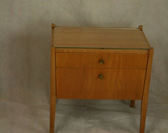 Vintage night stand by WK mobel  ,WK 166 ,  Luise von der Wehd_Altenburg