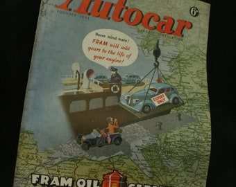 vintage the Autocar car magazine december 19 1947