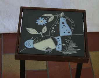 Vintage 50s end or sidetable