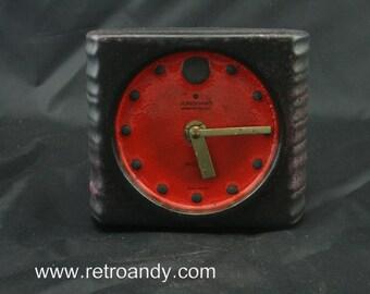 Vintage Junghans ato-mat ceramic clock