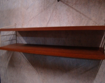 Small Vintage  Nisse Strinning [string] shelving unit