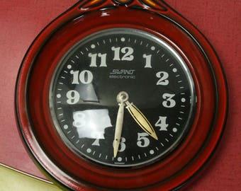 Vintage ceramic kitchen clock