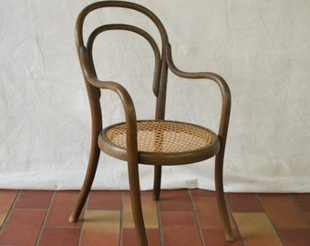 Vintage bent wood childs chair maybe Thonet