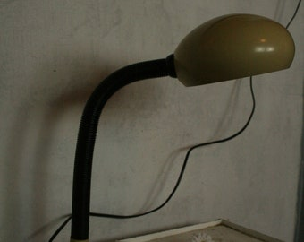 vintage goose necked lamp