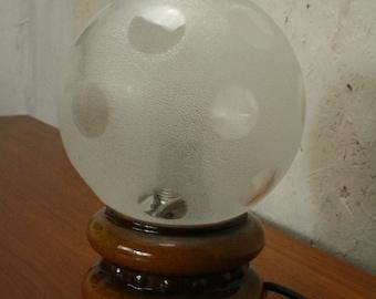 Vintage west German pottery lamp by Pan ceramic