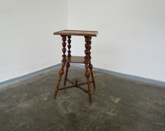 Vintage end table or plant stand