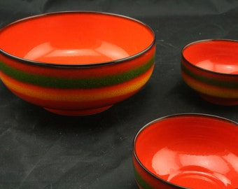 Vintage Bowl set by Fürstenburg