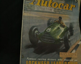 vintage the Autocar car magazine nov 28  1947