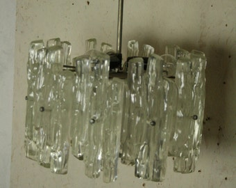 Original 70s Ice light or Pendant light