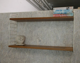 Vintage string wall unit by Nisse Strinning