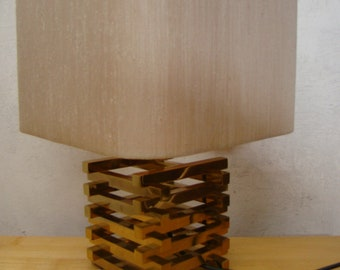 Vintage  Hollywood regency style table lamp