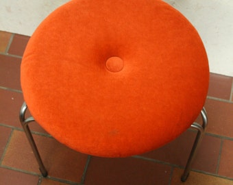 70s kitchen or bedroom stool