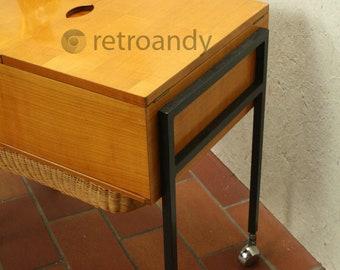 Vintage sewing box or basket