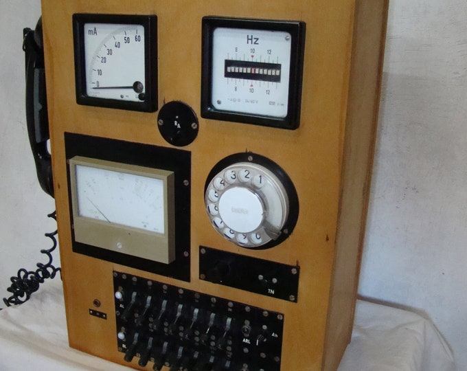 Featured listing image: Vintage telephone testing station