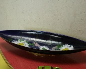70s enamel dish or ring tray