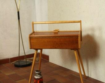 50s sewing box