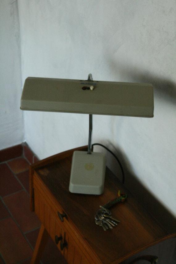 Vintage industrial buro light helo etsy - Industrial style buro ...