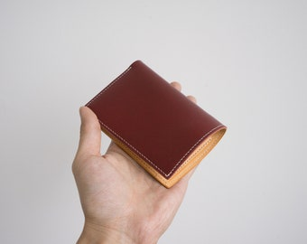 Buttero Leather Bifold leather wallet, handmade wallet