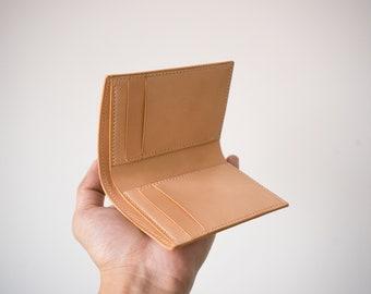 Tochigi Natural Card wallet, handmade wallet