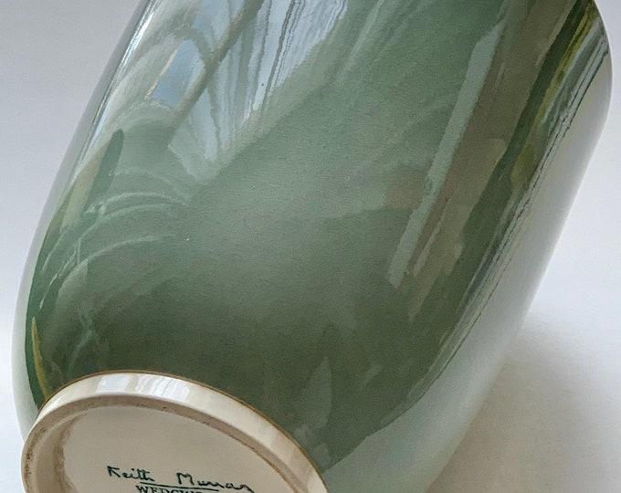 Art Deco Wedgwood Keith Murray celadon green vase