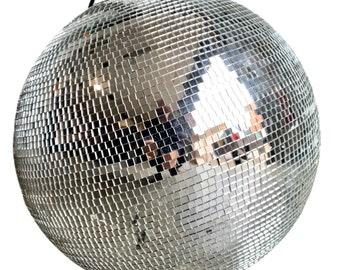 Vintage 1970's mirror glitter disco ball globe