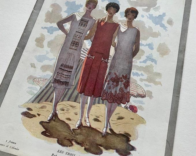 Le Jardin Des Modes magazine edition No72 15 July 1925 Conde Nast