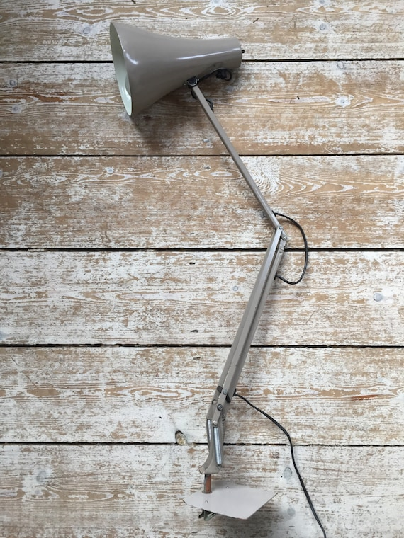 Vintage Herbert Terry model 90 anglepoise desk lamp with spring clip base circa 1970's