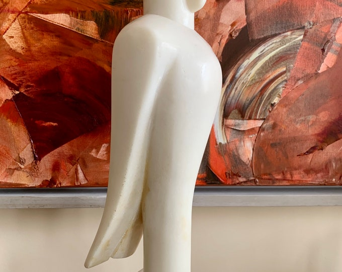 Roland Piché (born London 1938) The Neme Bird resin and marble dust mix circa 1991