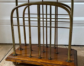 Antique Arts and crafts William Tonks and sons magazine rack
