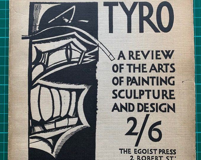 The Tyro issue 2 Wyndham Lewis Egoist press 1922