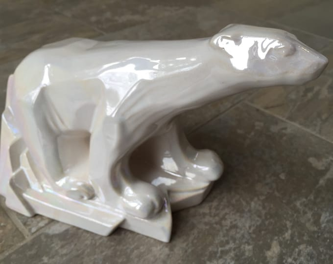 Sunset Ceramics Newlyn Celtic Polar Bear