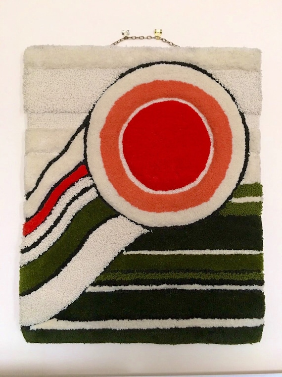 "Vintage Berit Woelfer wallhanging in wool circa late 1960's called, ""Aniara"" for Kasthall Atelje"