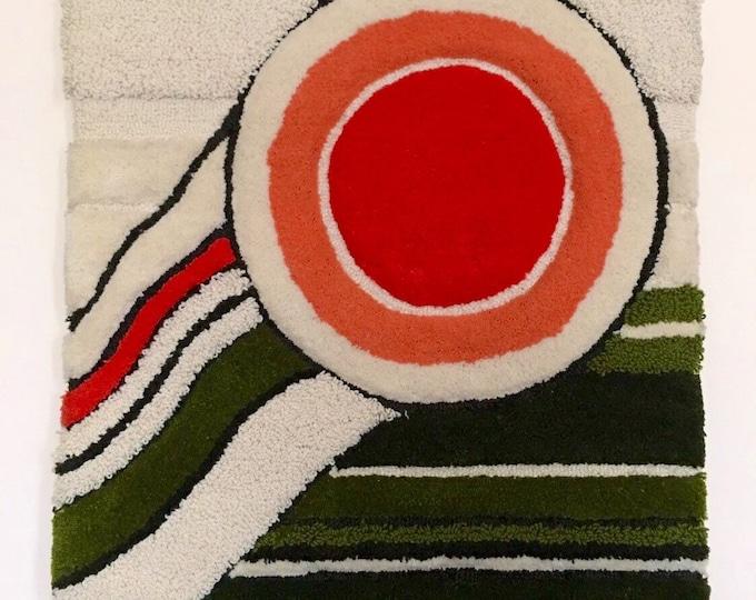 "Vintage Berit Woelfer wallhanging in wool circa late 1960's called, ""Aniara"" for Kasthall Atelje"