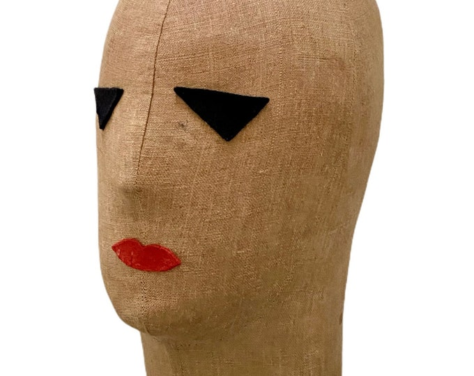 Bauhaus style dressmakers dummy head