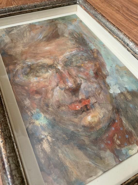 Michael Hyam (British b. 1958) male portrait with cravat