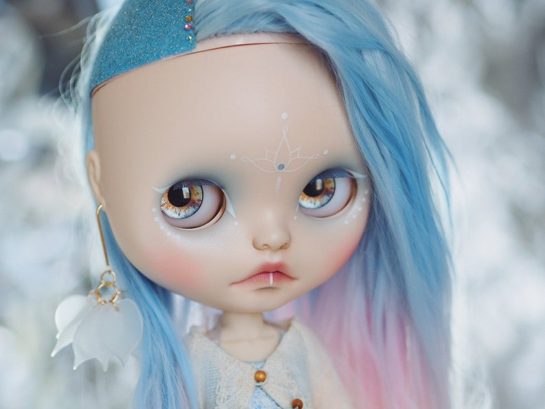 Blythe HD Realistic Shine Eyechips High Definition /& Perfect Fit Glass Eye Chips by KeiuDolls F-07