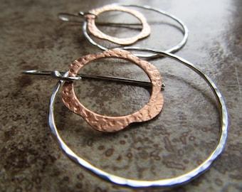 copper flower, thin loop