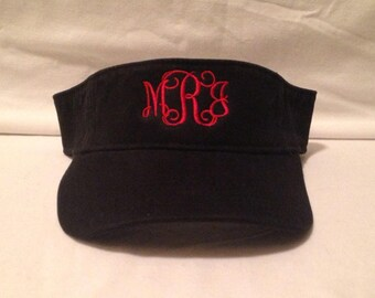 Visors  Monogrammed Visors     Custom Visors    Embroidered Visors    Mothers Day    Fathers Day   Graduation Gifts    custom embroidery