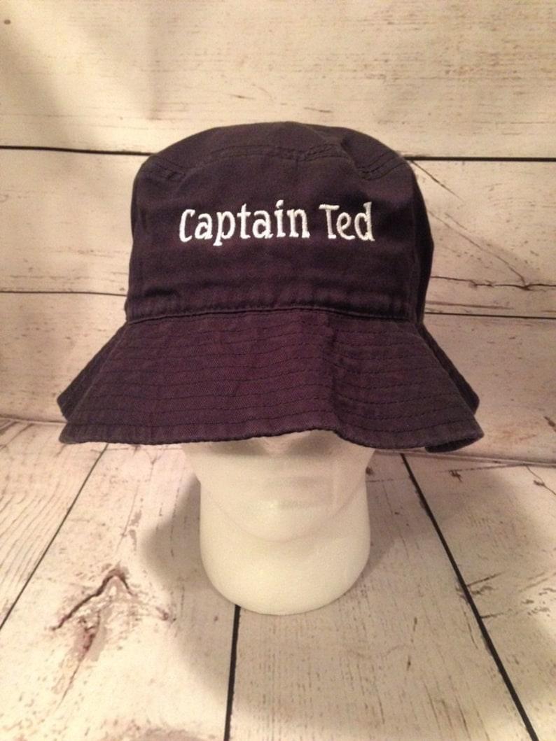 208186db2 Bucket Hat Custom Text Embroidered Bucket Hats Personalized Bucket Hats  Vacationer hat Custom Text Custom hat Beach hat sun hat