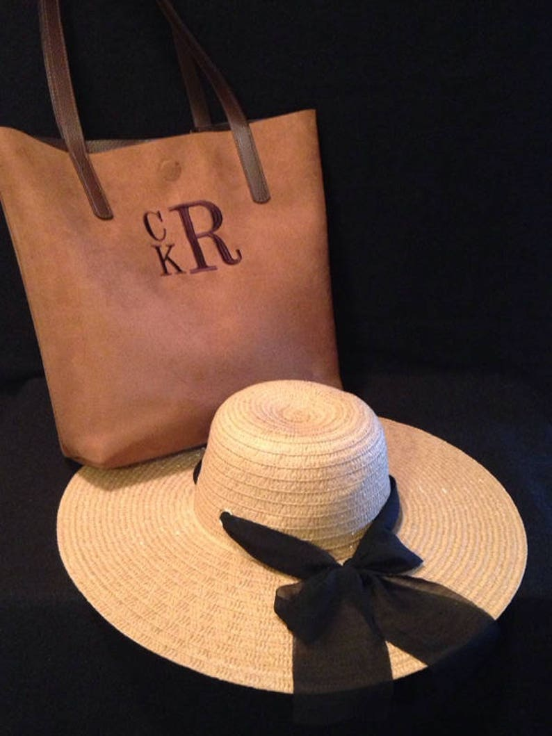 f4d6a43f Embroidered straw hats Floppy Hats custom hats | Etsy