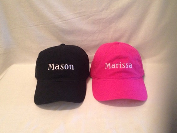 Custom Embroidered Hats Embroidered Caps Embroidered Hats Etsy