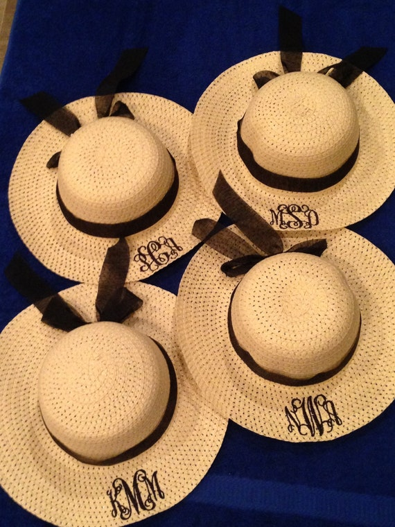 24bc7ad4 Floppy Hats custom hats Embroidered Hats beach hats straw hats floppy hats  Vacation Hats Custom Embroidery Sun Hats
