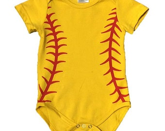 BASEBALL bodysuit  Personalized  baby outfit     Baby Sleeper   baseball outfit   Baby Boutique