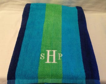 Beach Towels Personalize THIS Towel    Monogrammed Beach Towels    Embroidered Beach Towels      Graduation Gift
