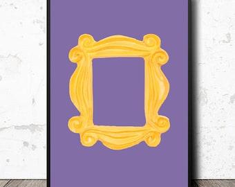 Friends Print - Monicas Door